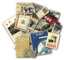 YANKS Over Here ! Memorabilia Pack